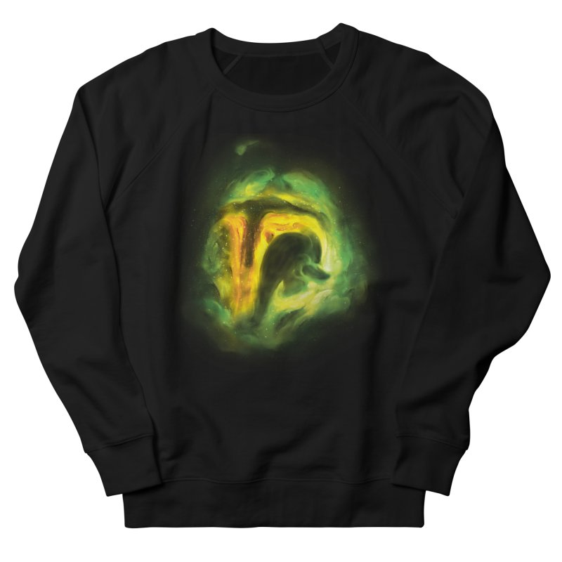 Negative Space: The Fett Nebula Women's French Terry Sweatshirt by Gyledesigns' Artist Shop