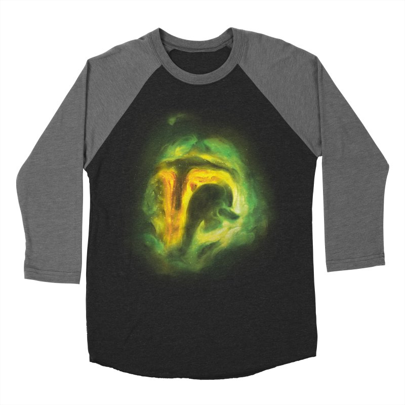 Negative Space: The Fett Nebula Women's Baseball Triblend Longsleeve T-Shirt by Gyledesigns' Artist Shop