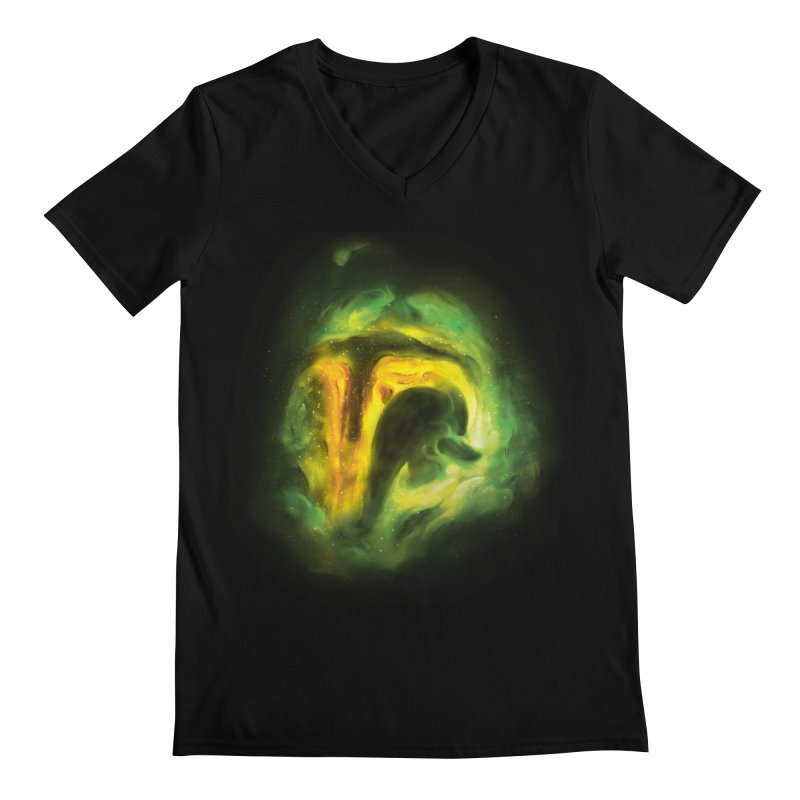 Negative Space: The Fett Nebula Men's Regular V-Neck by Gyledesigns' Artist Shop