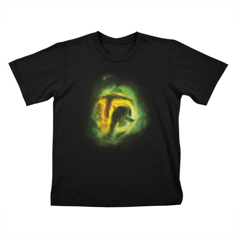 Negative Space: The Fett Nebula Kids T-Shirt by Gyledesigns' Artist Shop