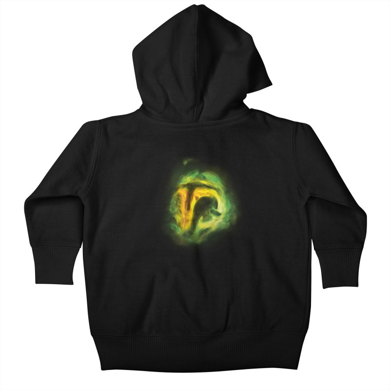 Negative Space: The Fett Nebula Kids Baby Zip-Up Hoody by Gyledesigns' Artist Shop