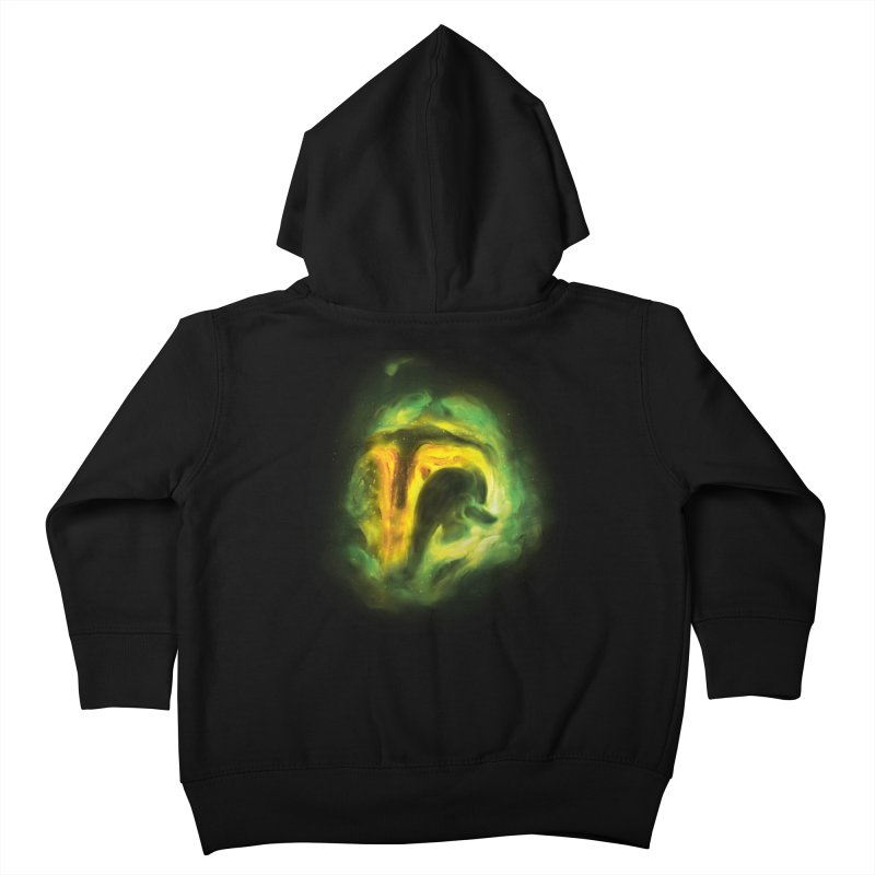 Negative Space: The Fett Nebula Kids Toddler Zip-Up Hoody by Gyledesigns' Artist Shop