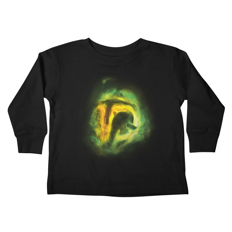 Negative Space: The Fett Nebula Kids Toddler Longsleeve T-Shirt by Gyledesigns' Artist Shop