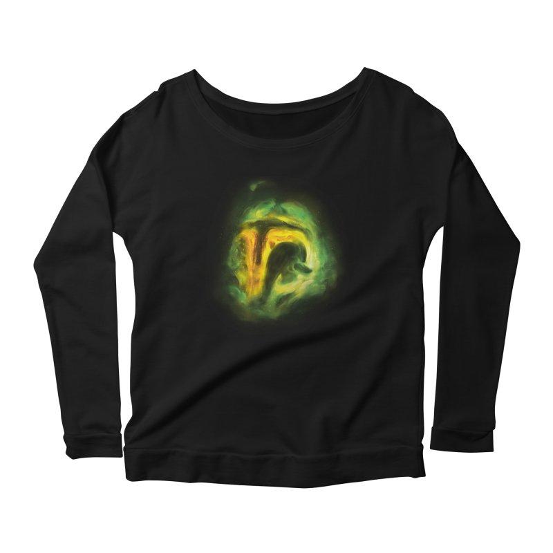 Negative Space: The Fett Nebula Women's Scoop Neck Longsleeve T-Shirt by Gyledesigns' Artist Shop