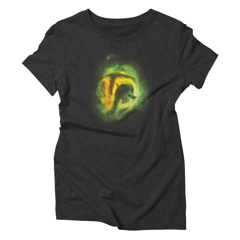 Negative Space: The Fett Nebula Women's Triblend T-Shirt by Gyledesigns' Artist Shop