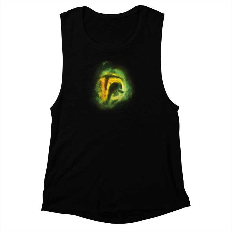 Negative Space: The Fett Nebula Women's Muscle Tank by Gyledesigns' Artist Shop