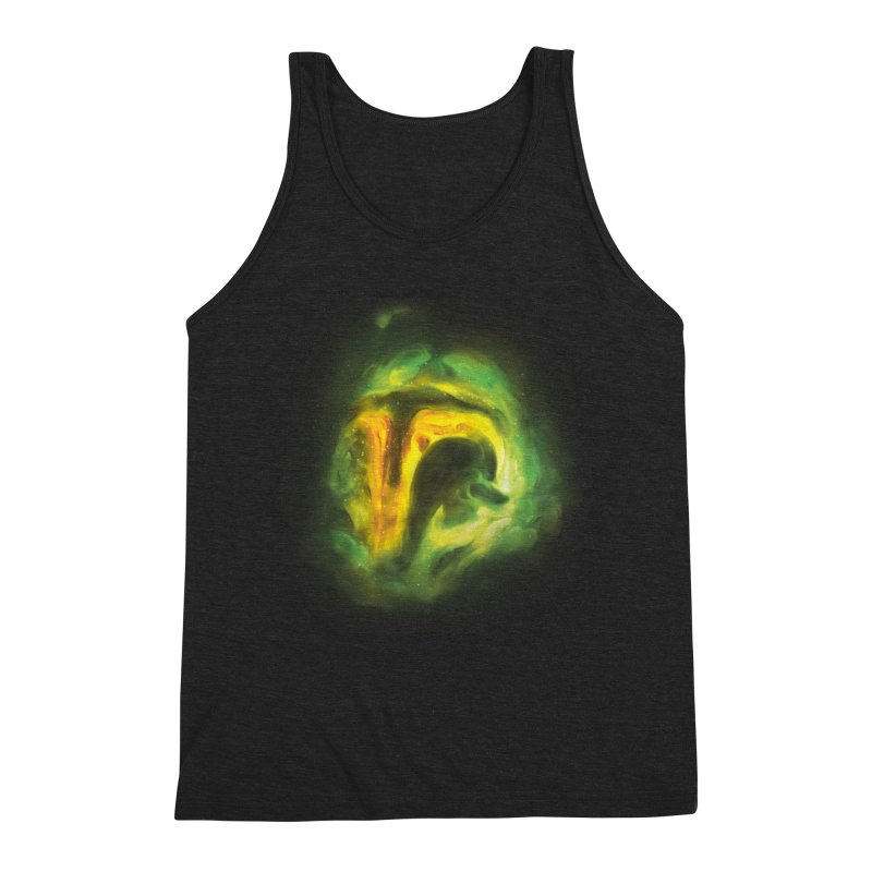 Negative Space: The Fett Nebula Men's Triblend Tank by Gyledesigns' Artist Shop