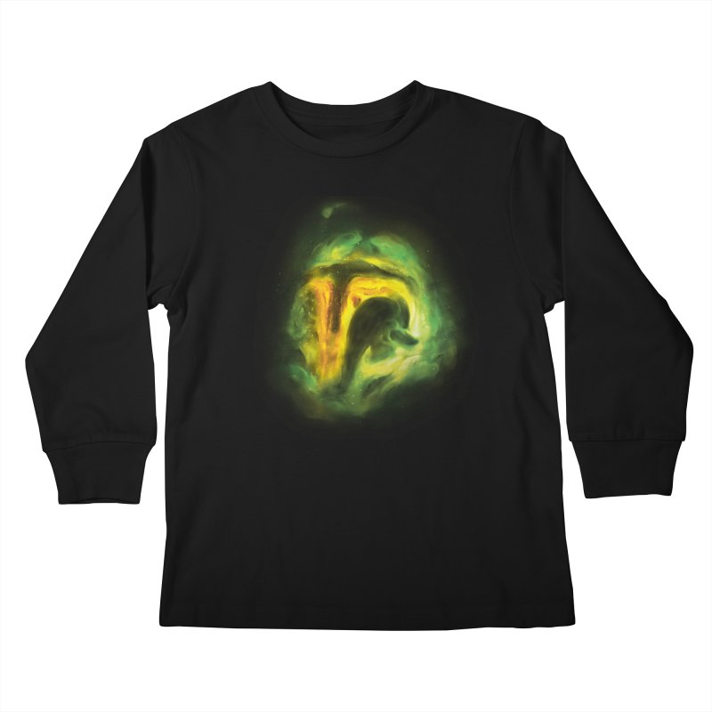 Negative Space: The Fett Nebula Kids Longsleeve T-Shirt by Gyledesigns' Artist Shop