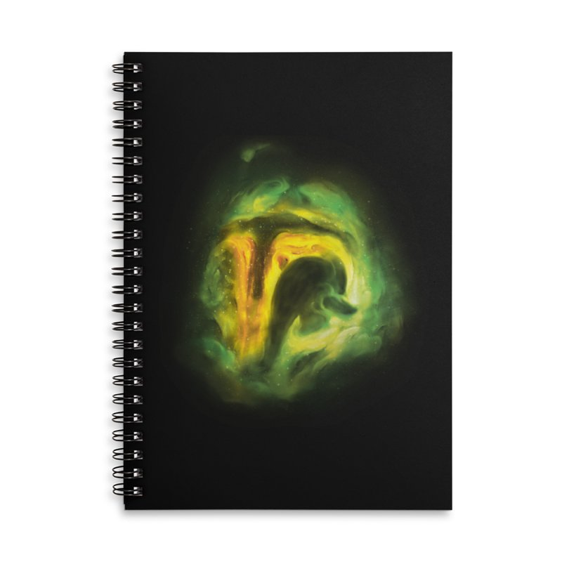 Negative Space: The Fett Nebula Accessories Lined Spiral Notebook by Gyledesigns' Artist Shop