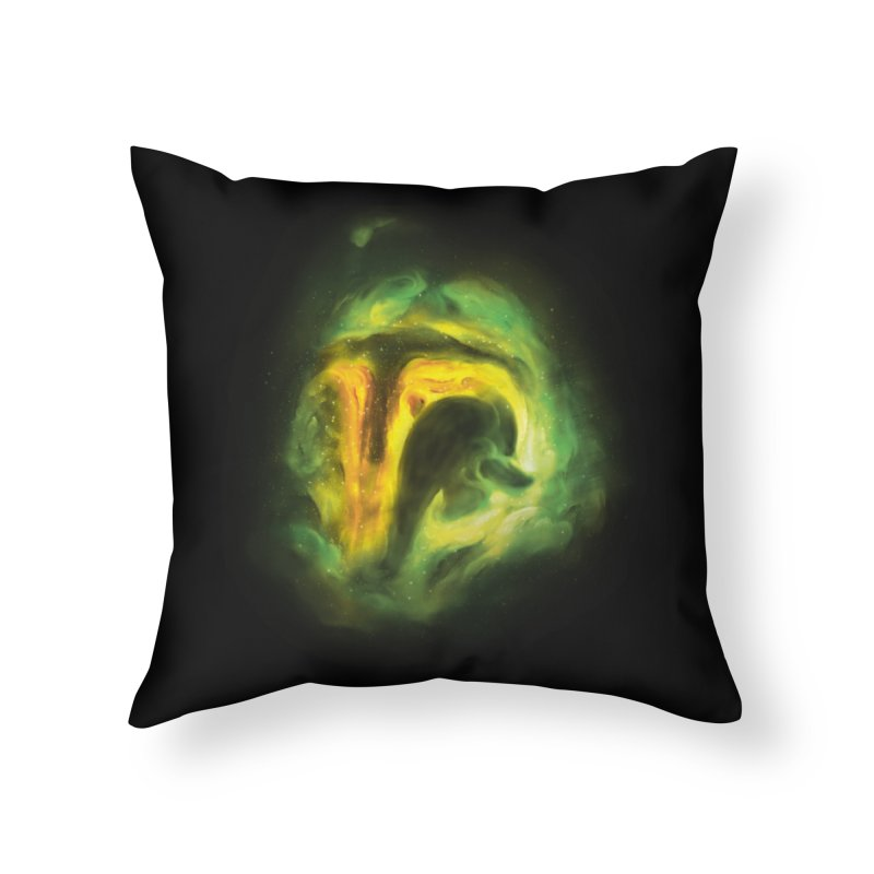 Negative Space: The Fett Nebula Home Throw Pillow by Gyledesigns' Artist Shop