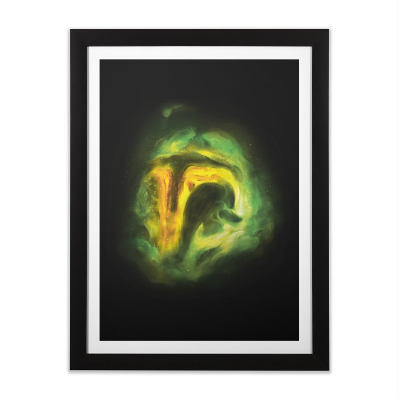 Negative Space: The Fett Nebula Home Framed Fine Art Print by Gyledesigns' Artist Shop