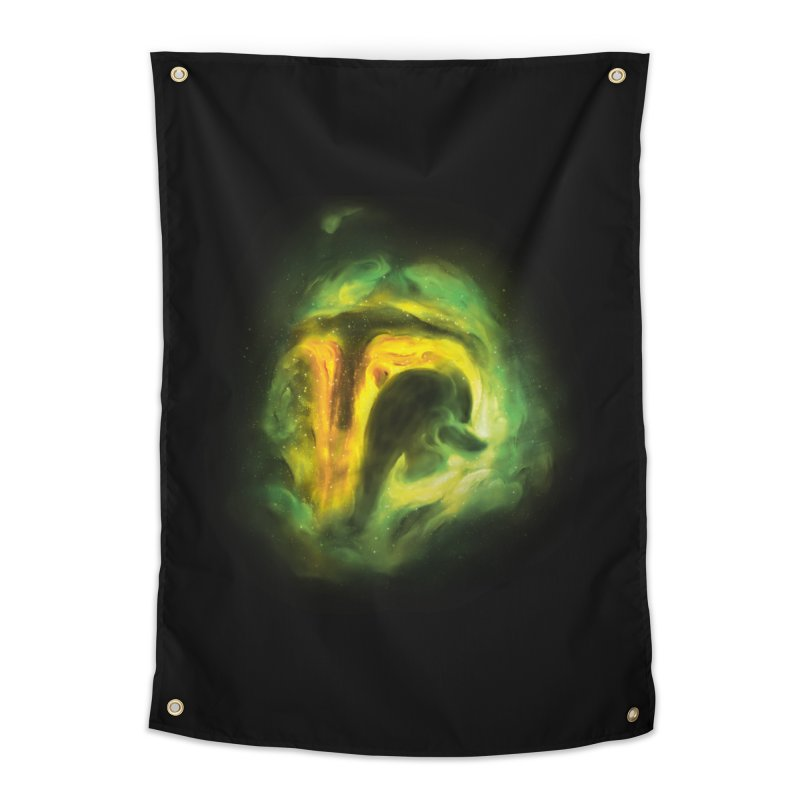 Negative Space: The Fett Nebula Home Tapestry by Gyledesigns' Artist Shop