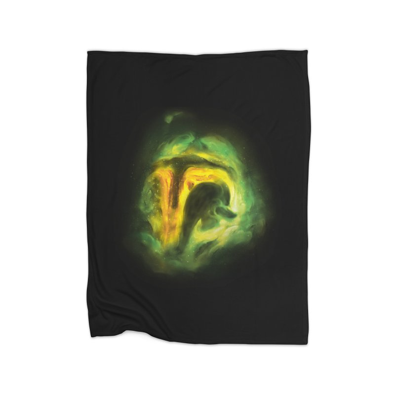 Negative Space: The Fett Nebula Home Fleece Blanket Blanket by Gyledesigns' Artist Shop