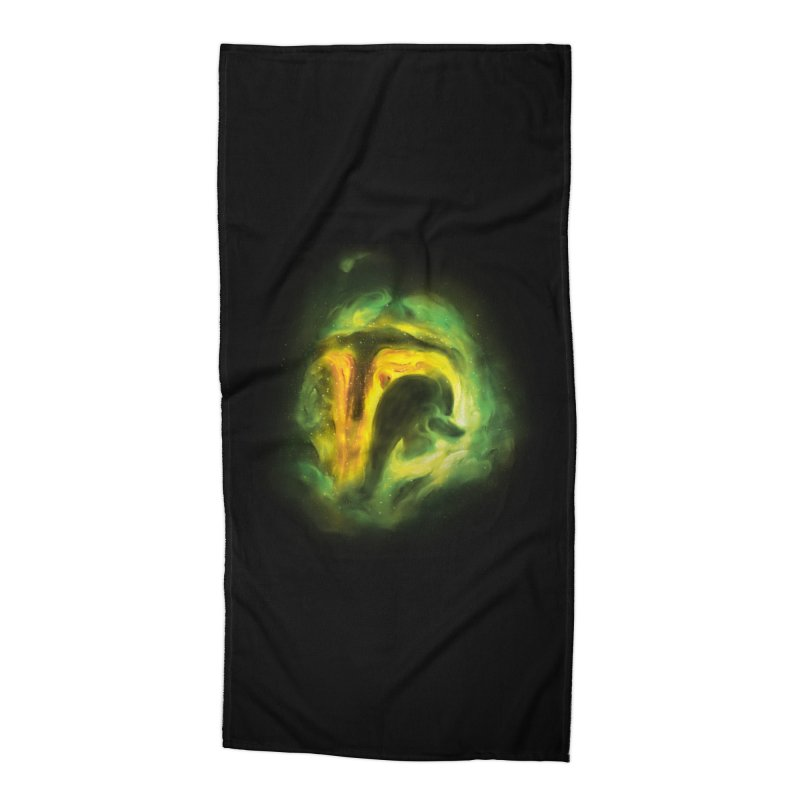 Negative Space: The Fett Nebula Accessories Beach Towel by Gyledesigns' Artist Shop