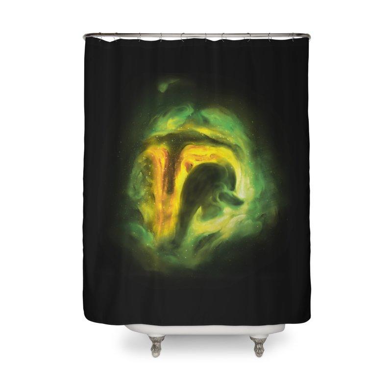 Negative Space: The Fett Nebula Home Shower Curtain by Gyledesigns' Artist Shop