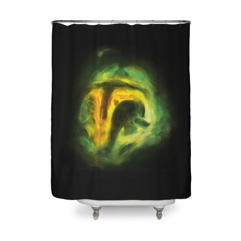 Negative Space: The Fett Nebula Home Shower Curtain by Gyledesigns' Artist Shop