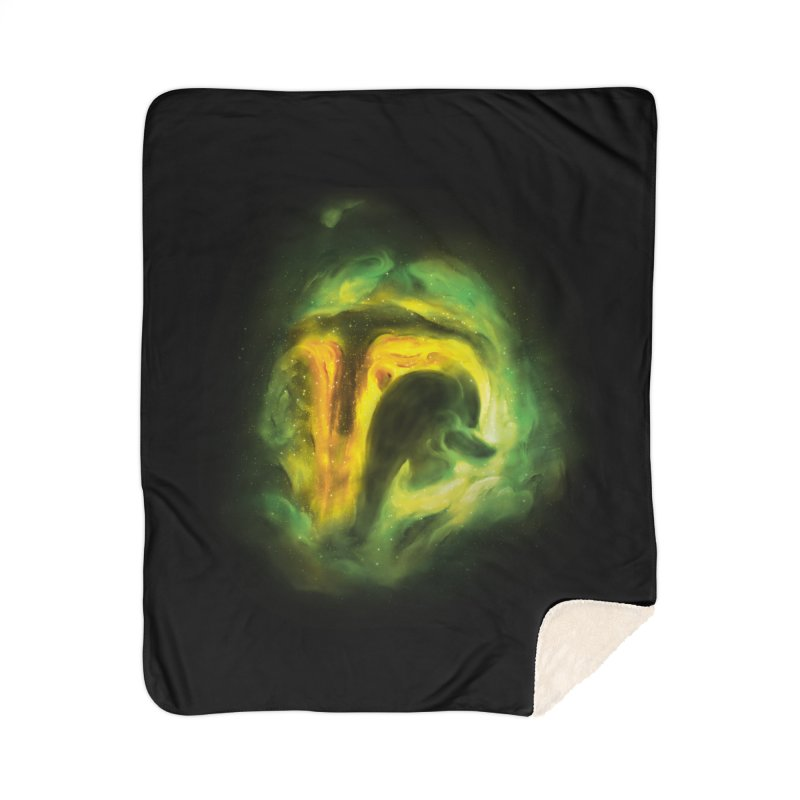Negative Space: The Fett Nebula Home Sherpa Blanket Blanket by Gyledesigns' Artist Shop