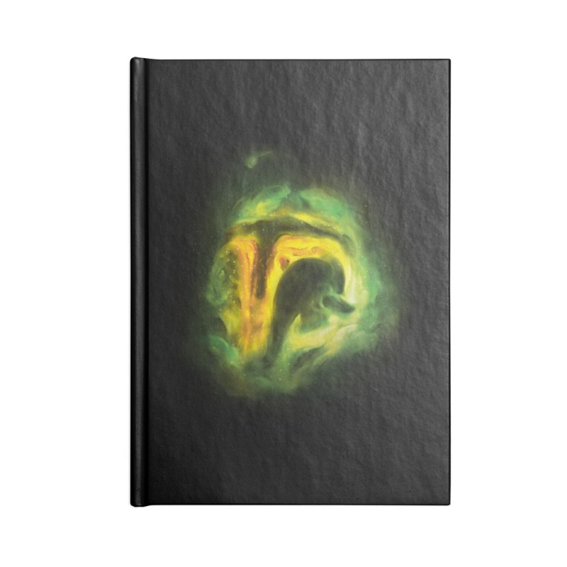 Negative Space: The Fett Nebula Accessories Notebook by Gyledesigns' Artist Shop