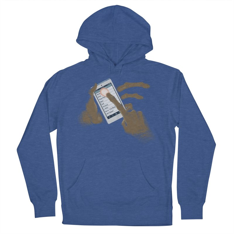 Phone Home Women's French Terry Pullover Hoody by Gyledesigns' Artist Shop