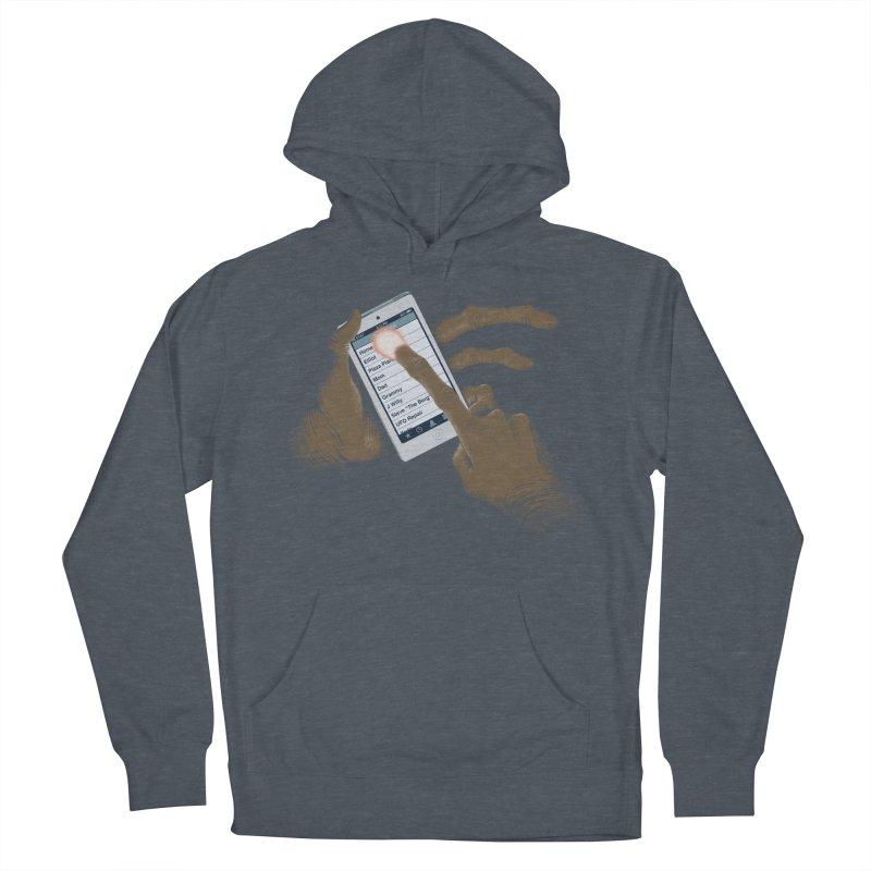 Phone Home Men's French Terry Pullover Hoody by Gyledesigns' Artist Shop