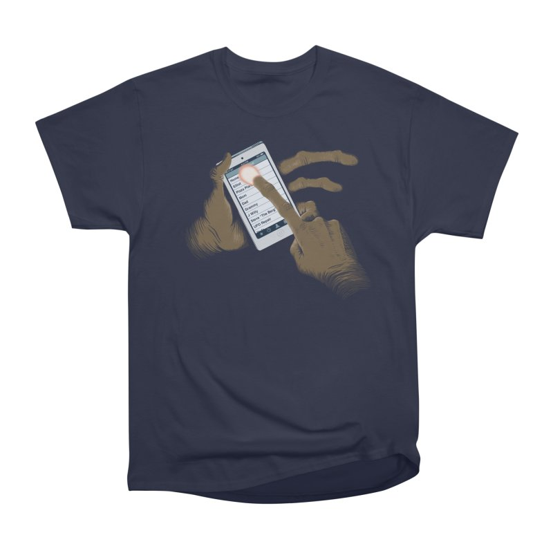 Phone Home Women's Heavyweight Unisex T-Shirt by Gyledesigns' Artist Shop