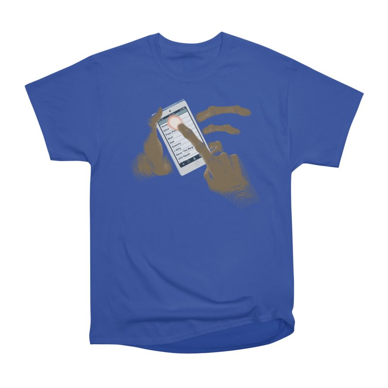 Phone Home Women's Heavyweight Unisex T-Shirt by Gyledesigns' Artist Shop