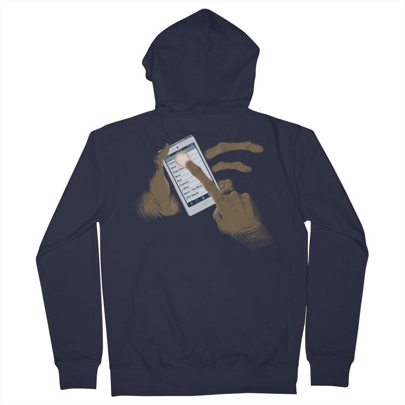 Phone Home Men's Zip-Up Hoody by Gyledesigns' Artist Shop