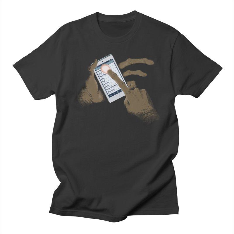 Phone Home Men's Regular T-Shirt by Gyledesigns' Artist Shop