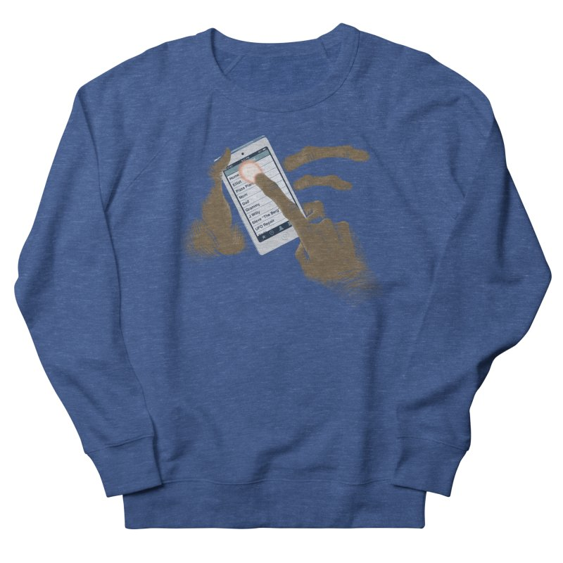 Phone Home Women's French Terry Sweatshirt by Gyledesigns' Artist Shop