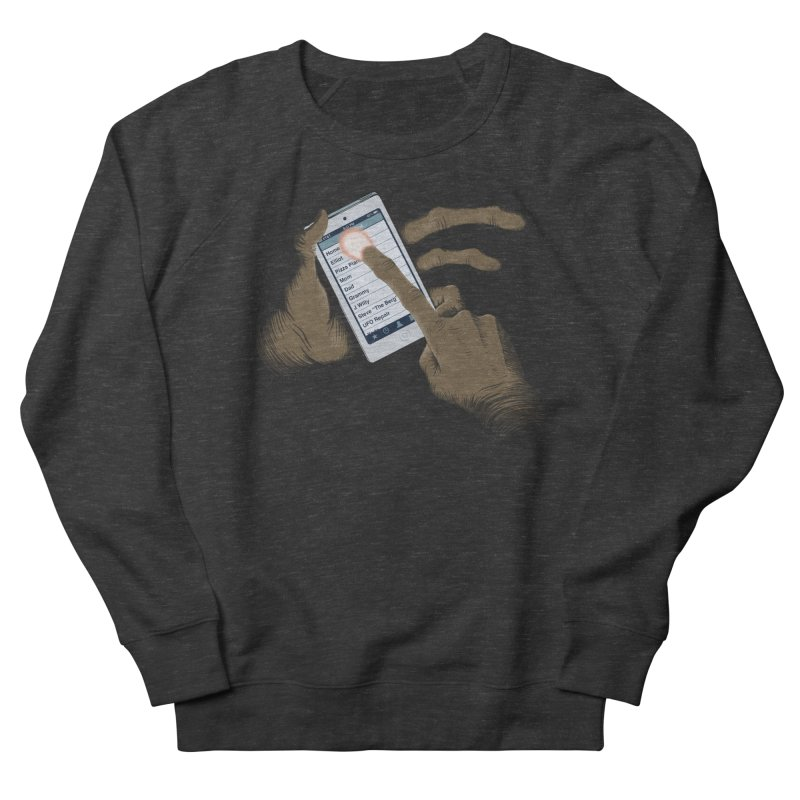 Phone Home Men's French Terry Sweatshirt by Gyledesigns' Artist Shop