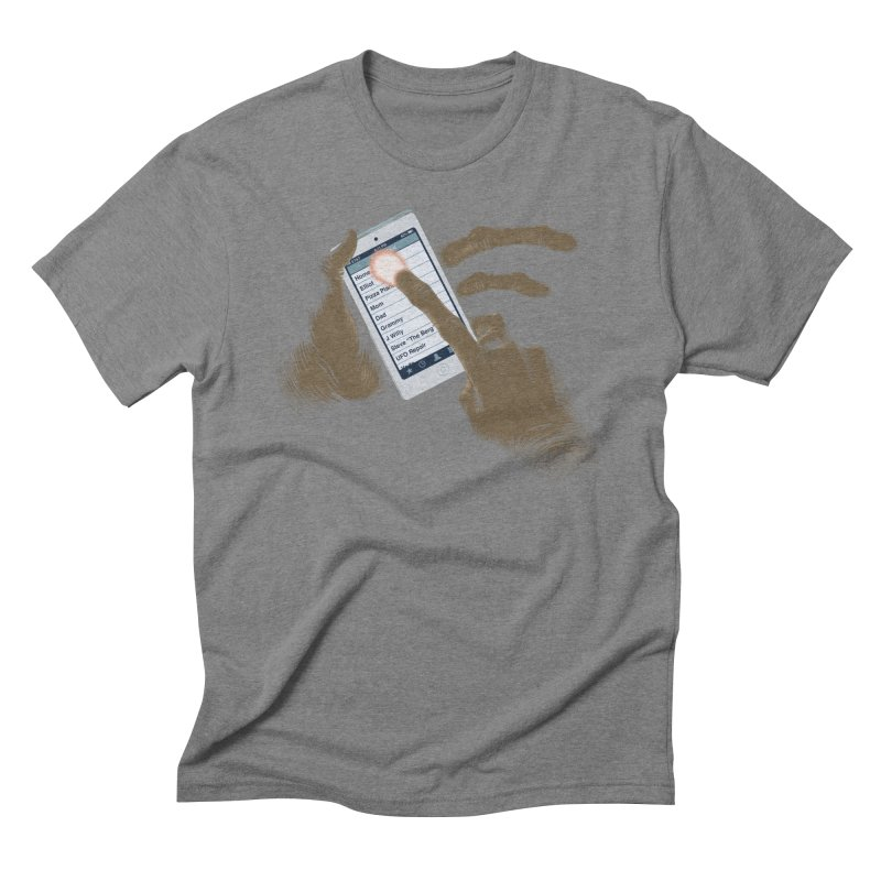 Phone Home Men's Triblend T-Shirt by Gyledesigns' Artist Shop