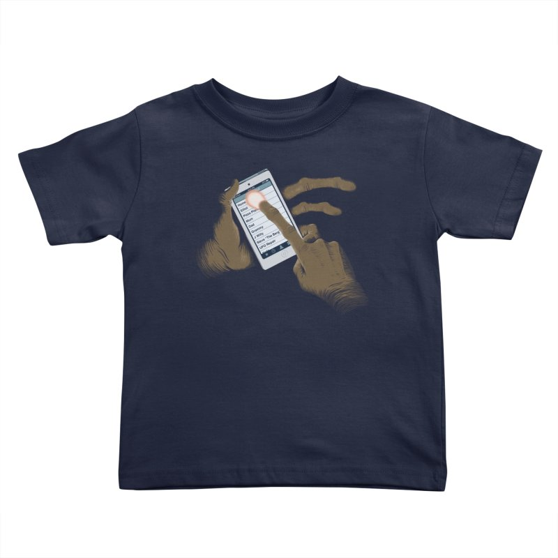 Phone Home Kids Toddler T-Shirt by Gyledesigns' Artist Shop