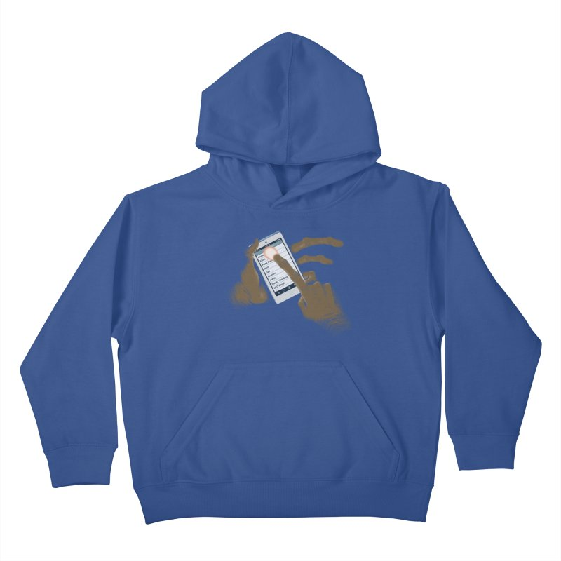 Phone Home Kids Pullover Hoody by Gyledesigns' Artist Shop
