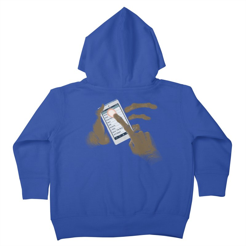 Phone Home Kids Toddler Zip-Up Hoody by Gyledesigns' Artist Shop
