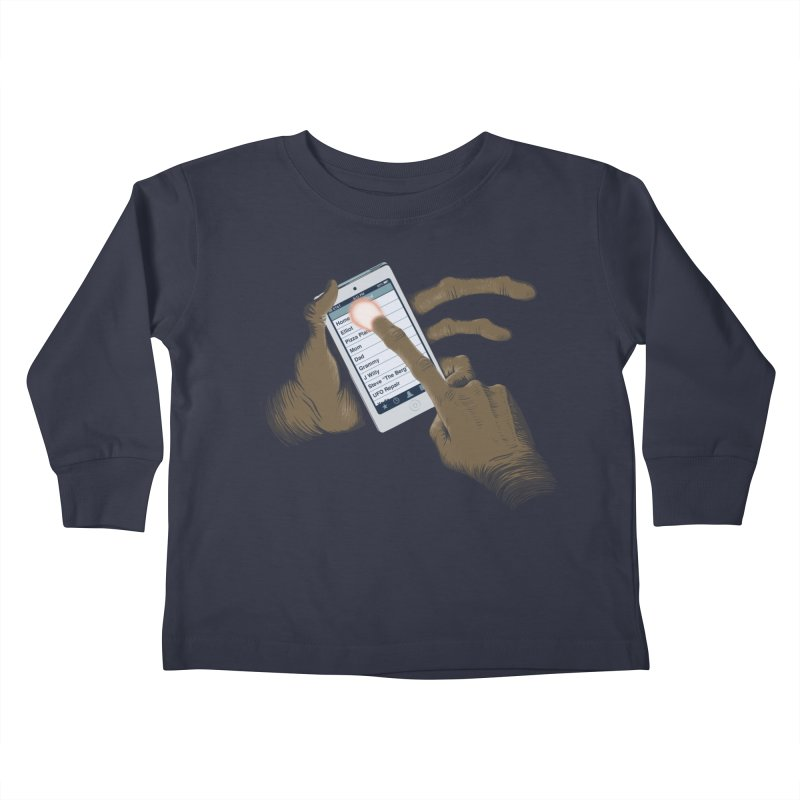 Phone Home Kids Toddler Longsleeve T-Shirt by Gyledesigns' Artist Shop
