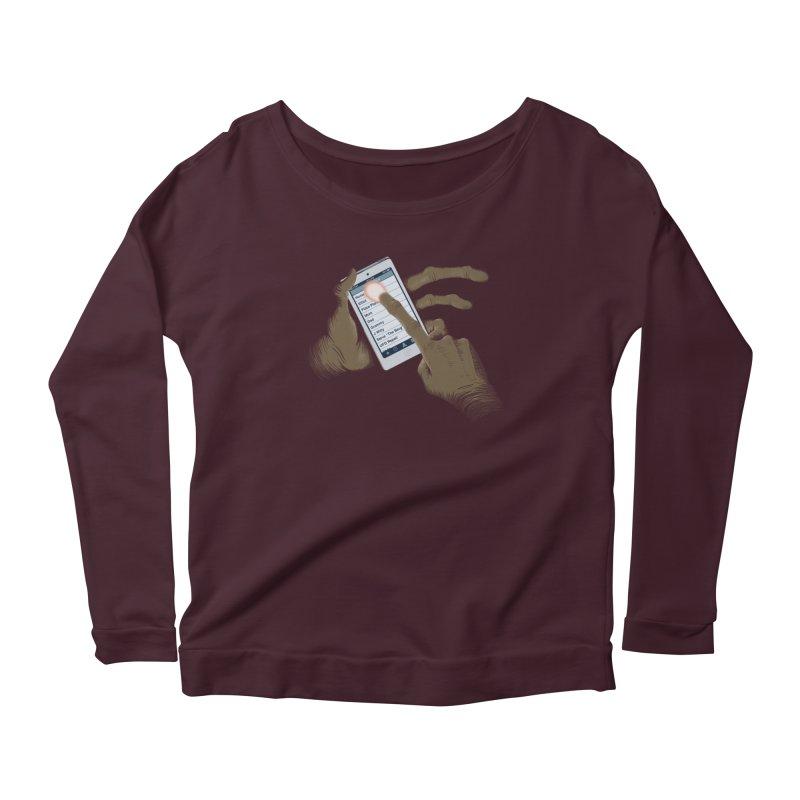 Phone Home Women's Scoop Neck Longsleeve T-Shirt by Gyledesigns' Artist Shop