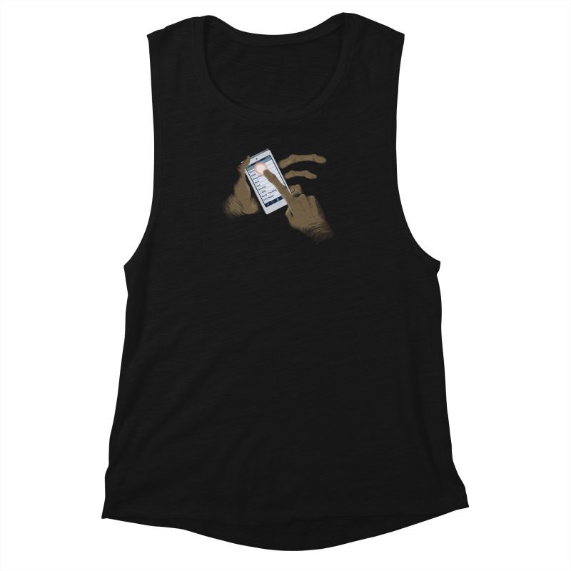Phone Home Women's Muscle Tank by Gyledesigns' Artist Shop