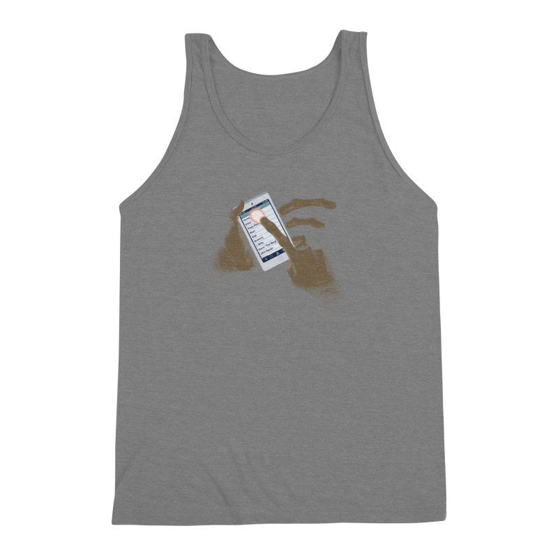 Phone Home Men's Triblend Tank by Gyledesigns' Artist Shop