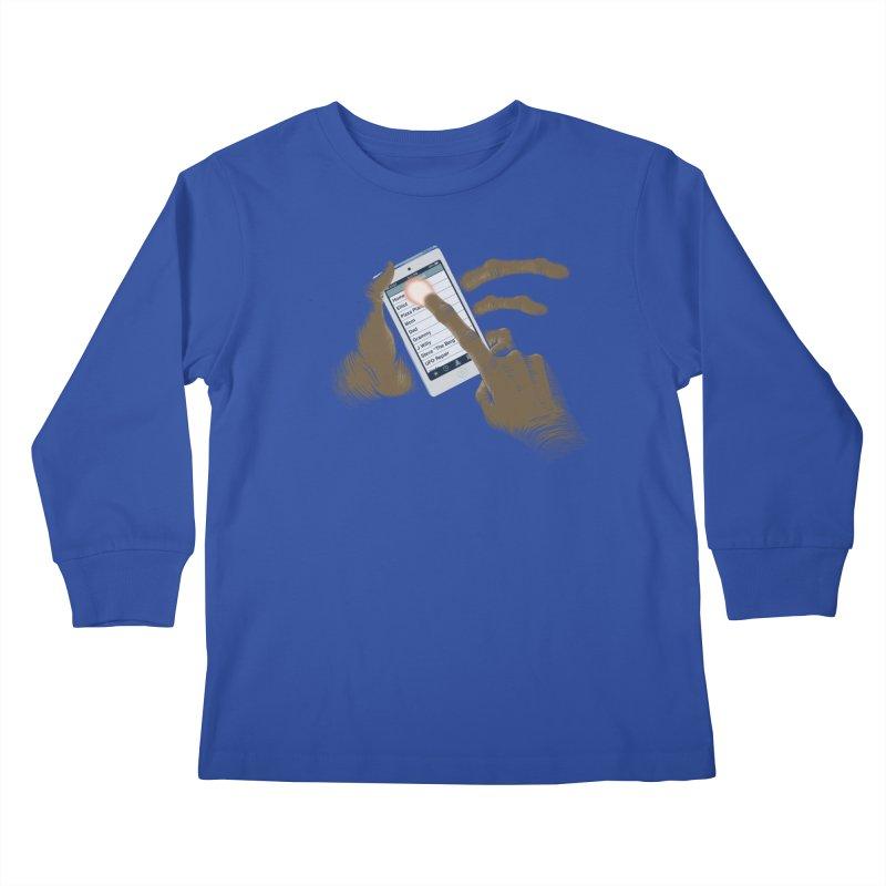 Phone Home Kids Longsleeve T-Shirt by Gyledesigns' Artist Shop