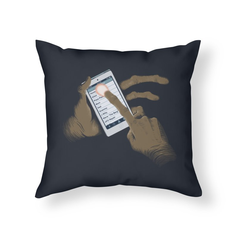 Phone Home Home Throw Pillow by Gyledesigns' Artist Shop
