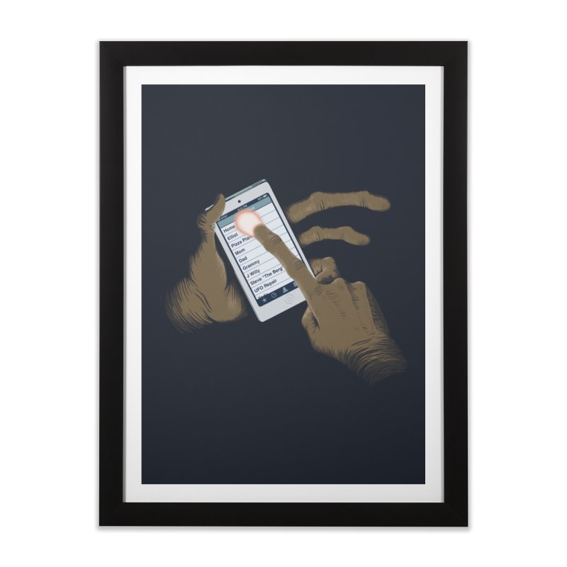 Phone Home Home Framed Fine Art Print by Gyledesigns' Artist Shop
