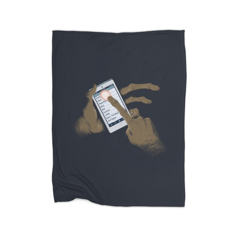 Phone Home Home Blanket by Gyledesigns' Artist Shop