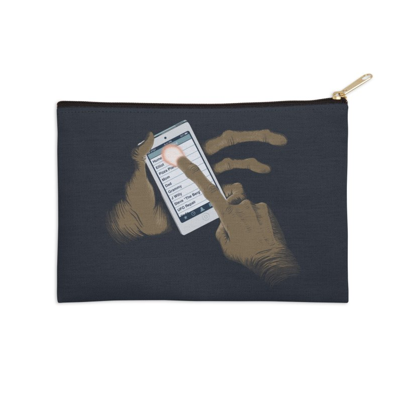 Phone Home Accessories Zip Pouch by Gyledesigns' Artist Shop