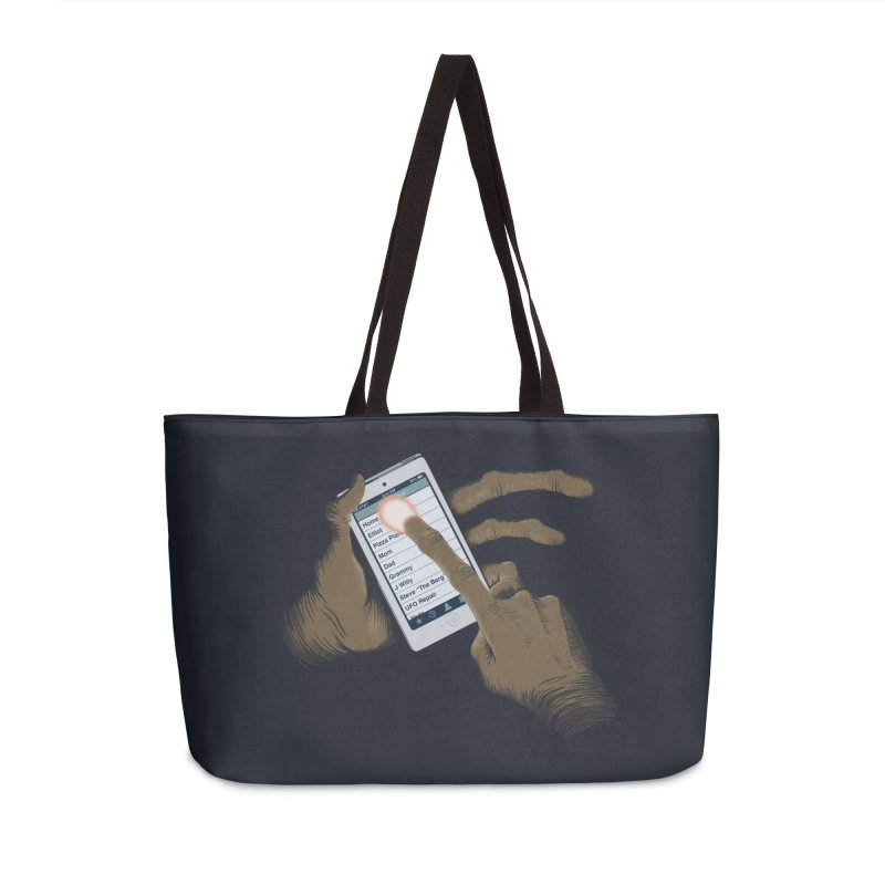 Phone Home Accessories Weekender Bag Bag by Gyledesigns' Artist Shop