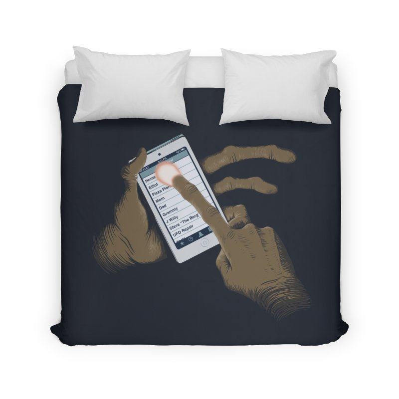 Phone Home Home Duvet by Gyledesigns' Artist Shop