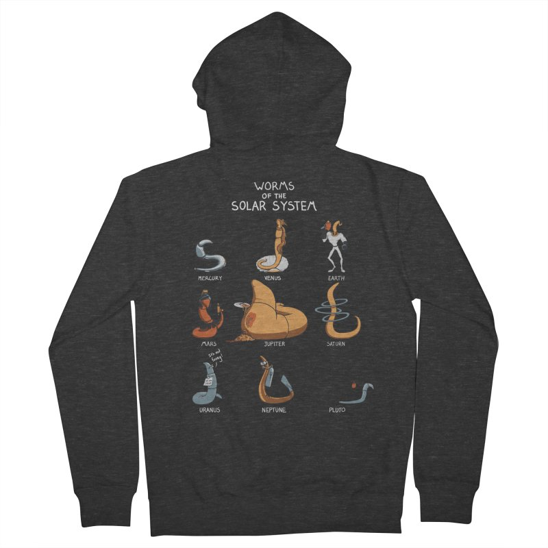 Worms of the Solar System Women's French Terry Zip-Up Hoody by Gyledesigns' Artist Shop