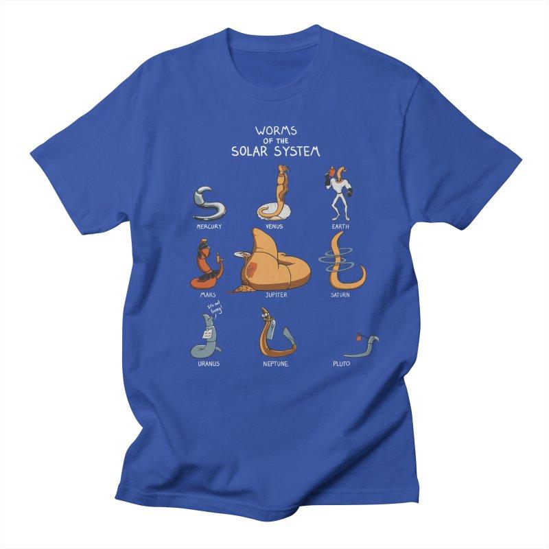 Worms of the Solar System Men's Regular T-Shirt by Gyledesigns' Artist Shop