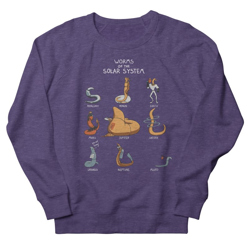 Worms of the Solar System Women's French Terry Sweatshirt by Gyledesigns' Artist Shop
