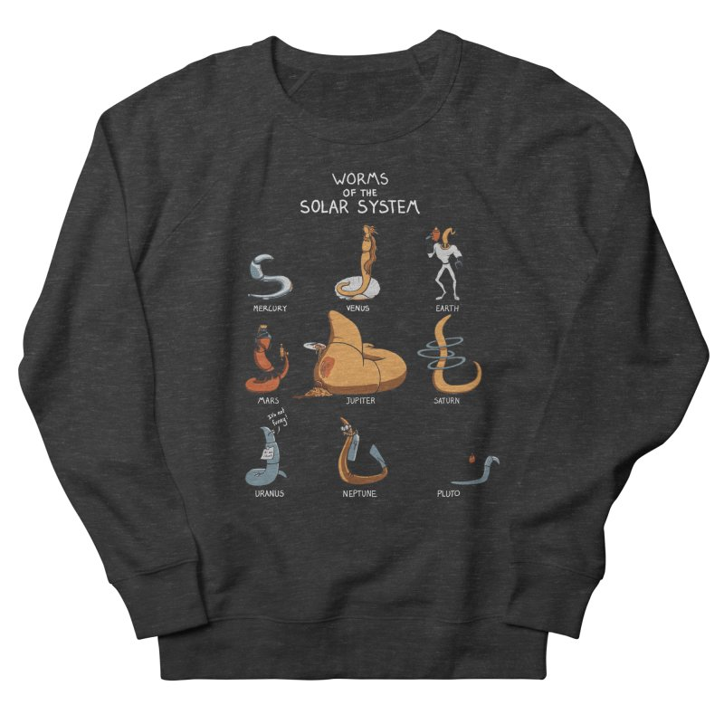 Worms of the Solar System Men's French Terry Sweatshirt by Gyledesigns' Artist Shop