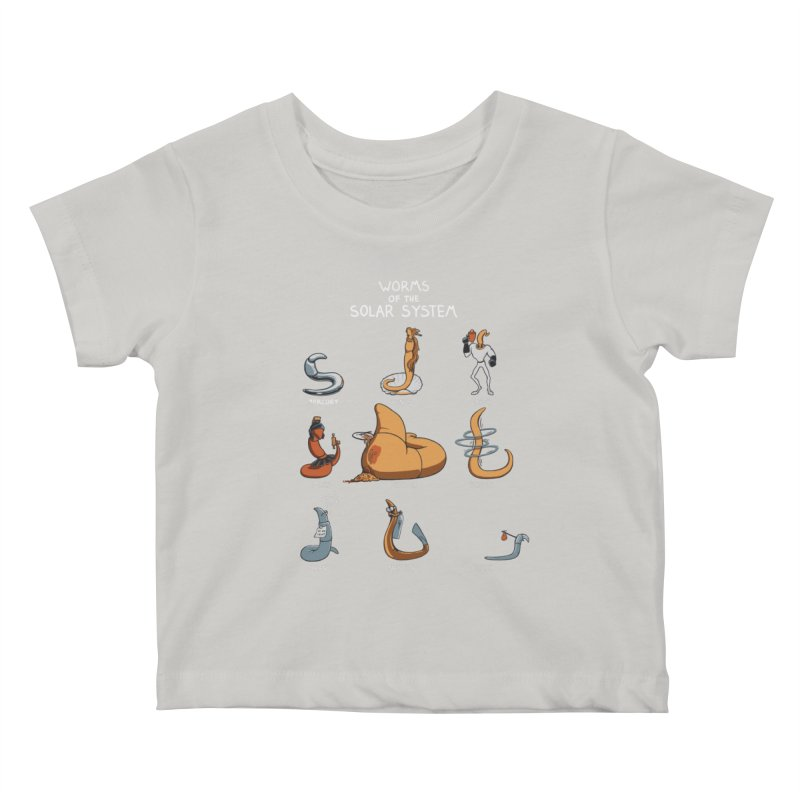 Worms of the Solar System Kids Baby T-Shirt by Gyledesigns' Artist Shop